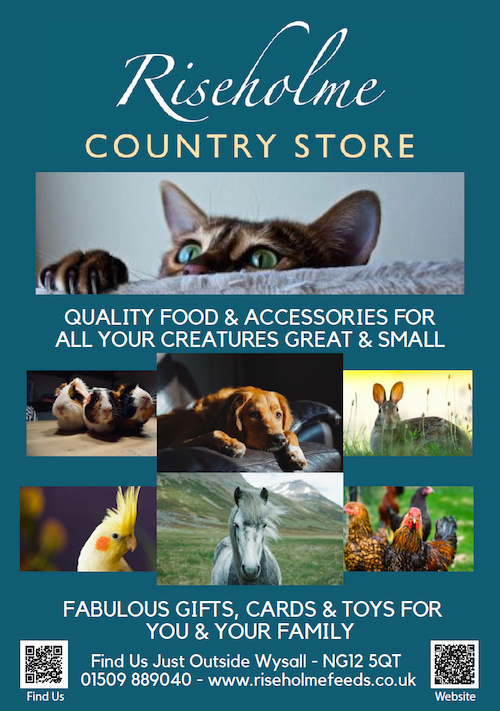 Advert for Riseholme Country Store