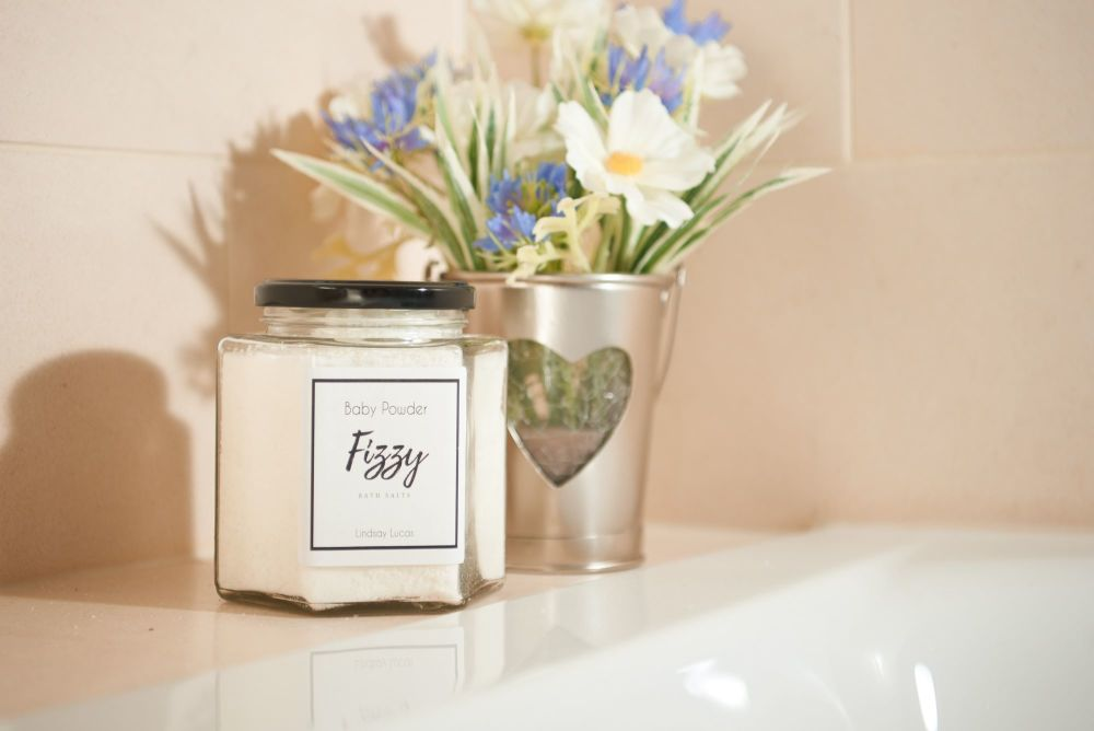 Baby Powder Fizzy Bath Salts