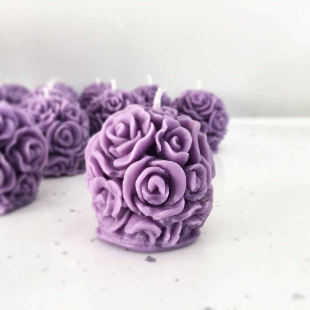 Rose Ball Wedding Favour