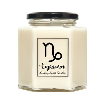 Capricorn Horoscope Candle