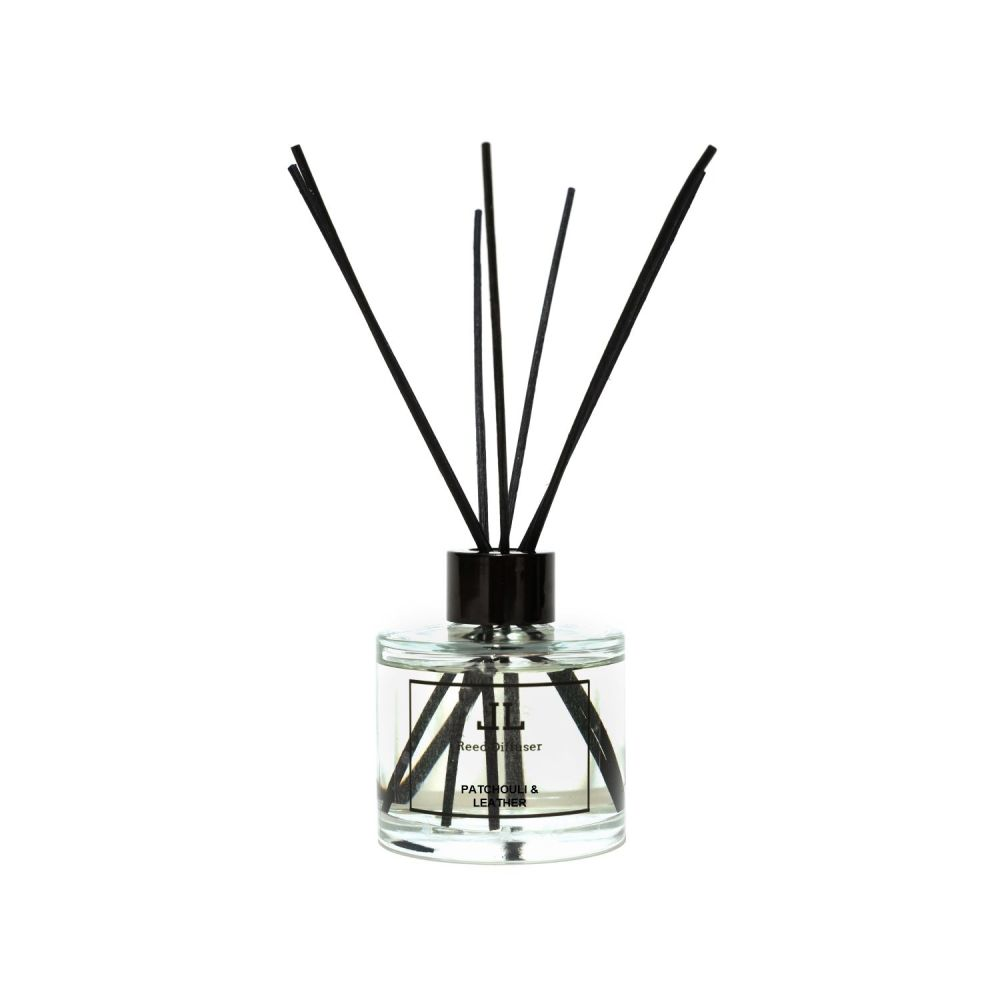 <h3>Patchouli and Leather Reed Diffuser <h3>