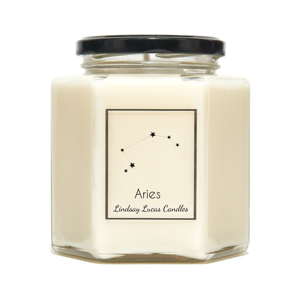Aries Constellation Candle