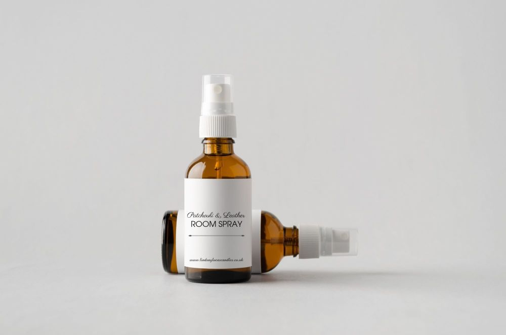 Patchouli & Leather Room Spray