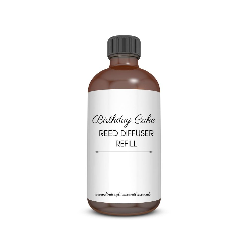 Birthday Cake Reed Diffuser Oil Refill