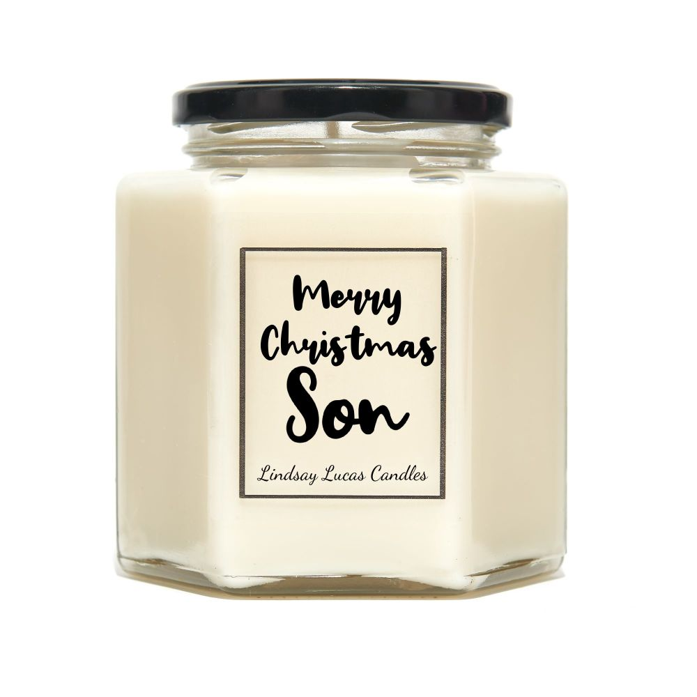 Merry Christmas Son Scented Candle