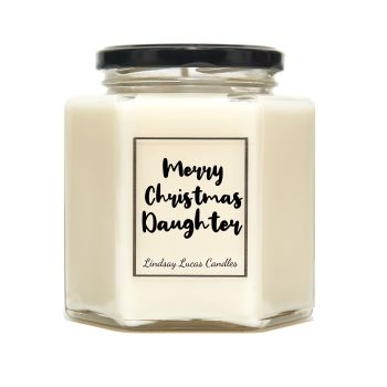 Merry Christmas Daughter Scented Candle