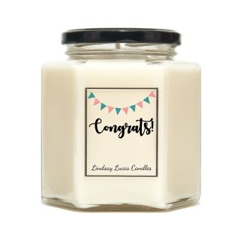 Congratulations Scented Candle