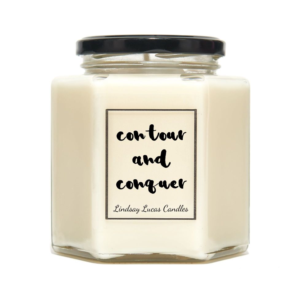 Contour And Conquer Candle