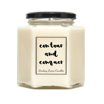 Contour And Conquer Scented Candle