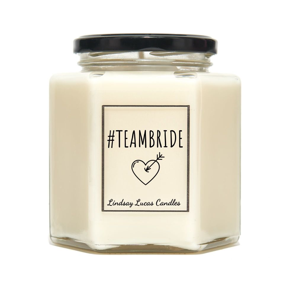 Team Bride Anniversary Scented Candle