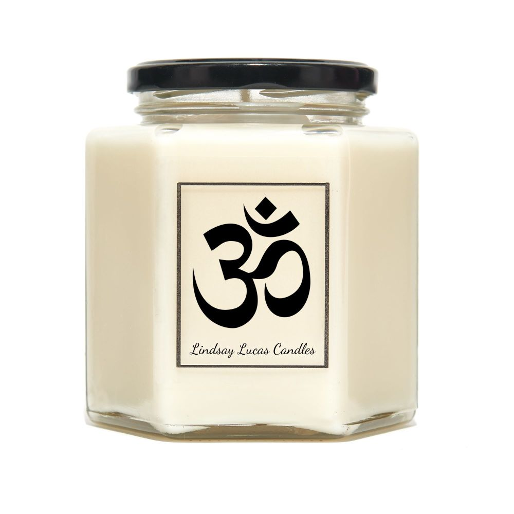 Om Symbol Scented Candle