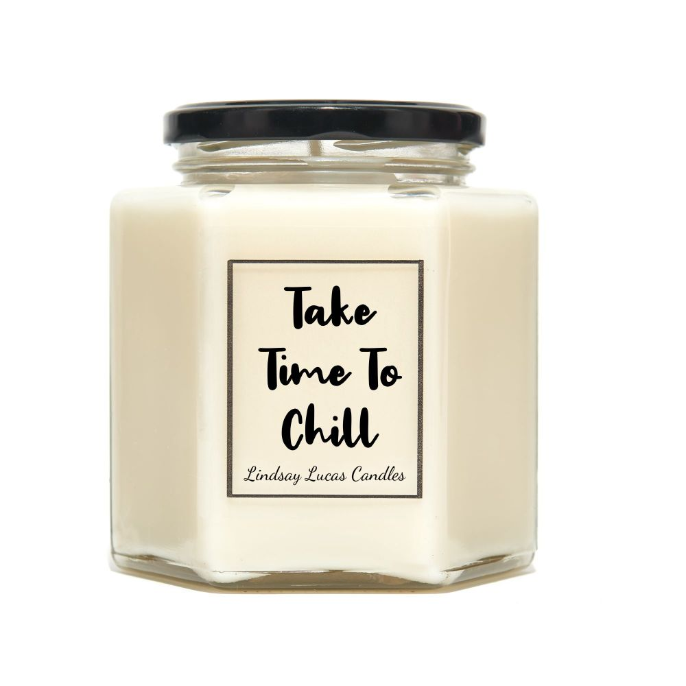 Take Time To Chill Scented Candle