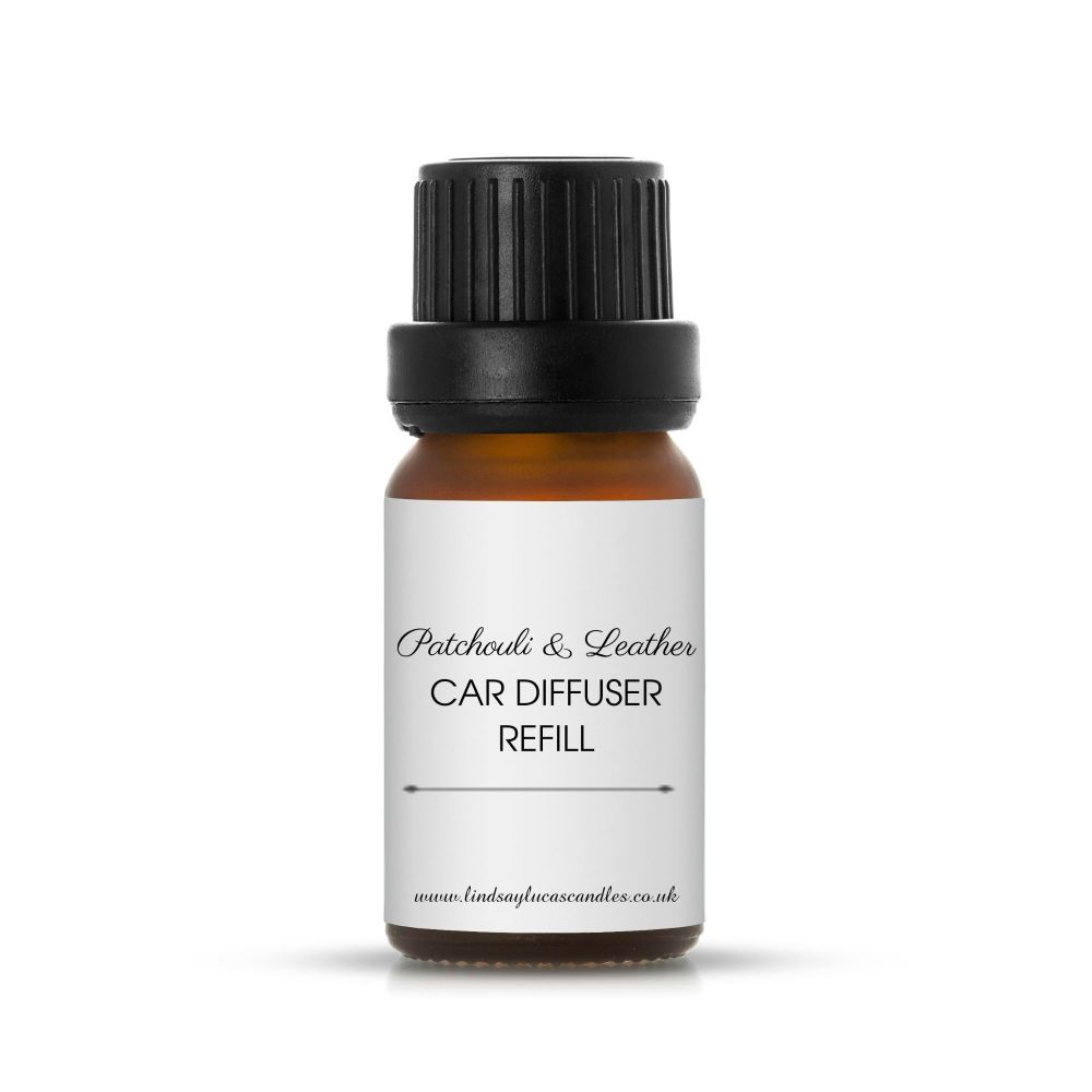 Patchouli And Leather Car Diffuser Refill