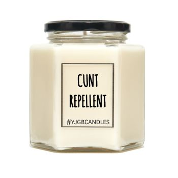 Cunt Repellent Scented Candle