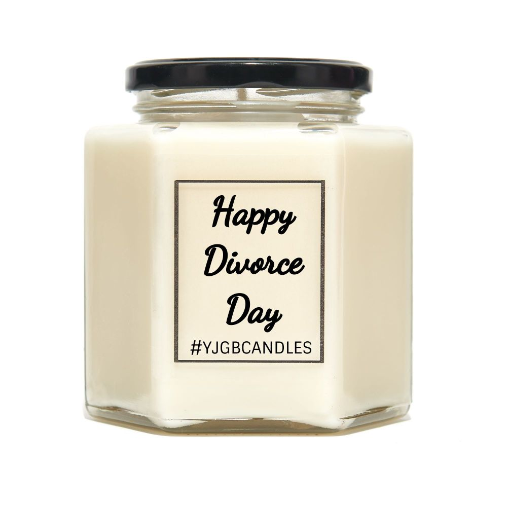 Happy Divorce Day Scented Candle