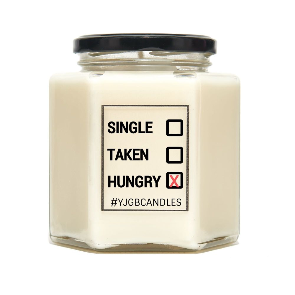 Single, Taken, Hungry Scented Candle