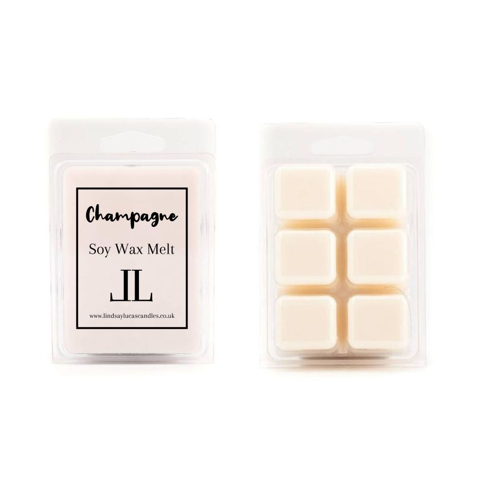Champagne and Pomegranate Wax Melts