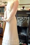 1970s Pronuptia Gown & Hat