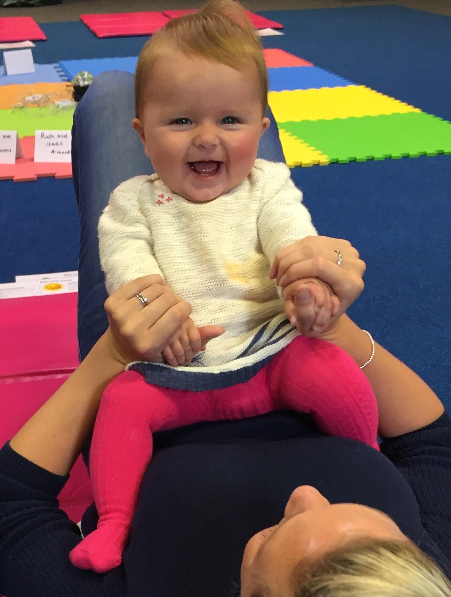 Baby Massage Class Chapel Allerton