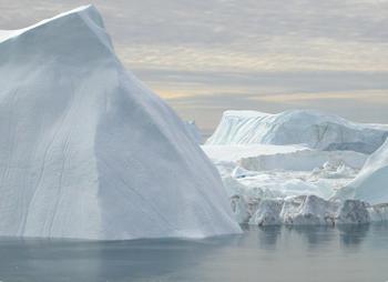 Icebergs at Ilulisat, Greenland