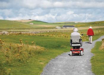 Skara Brae, Orkney - 'It's a race!'