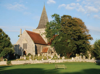 Alfriston Church, East Sussex