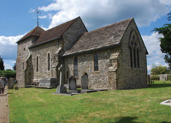 Church at Sullington, West Sussex