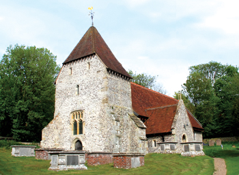 Church at West Dean, East Sussex