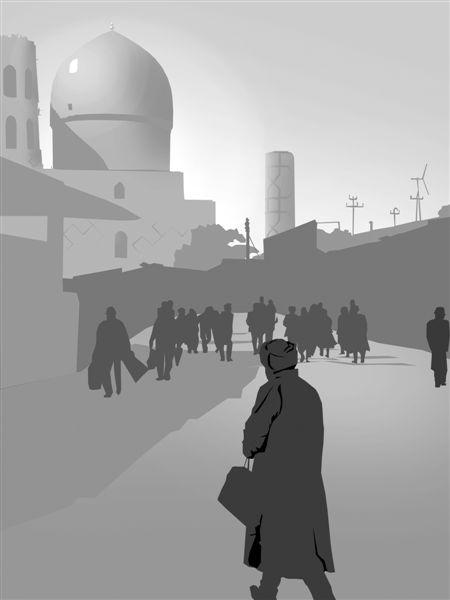 Street in Samarkand
