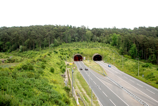 Tunnel at Hindhead