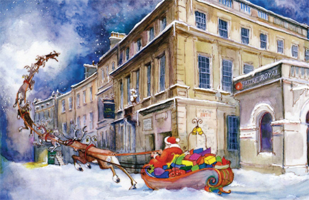 Father Christmas at the Theatre Royal, Bath