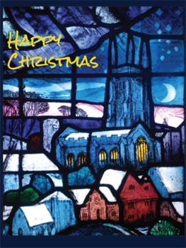 Westmeston church window