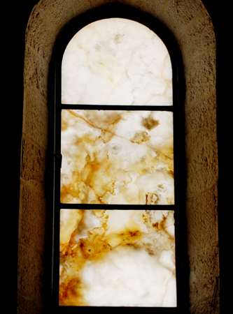 Alabaster window, Capernaum