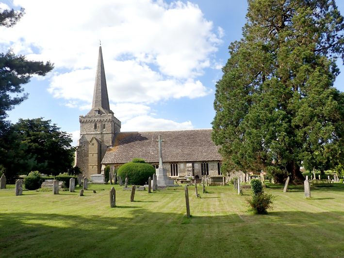 The church at Cuckfield