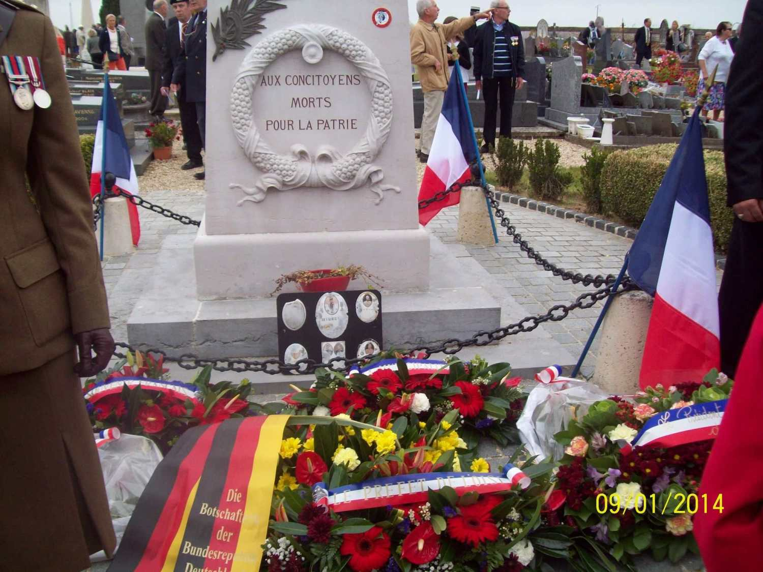 2015 - The French Monument Néry Cemetery
