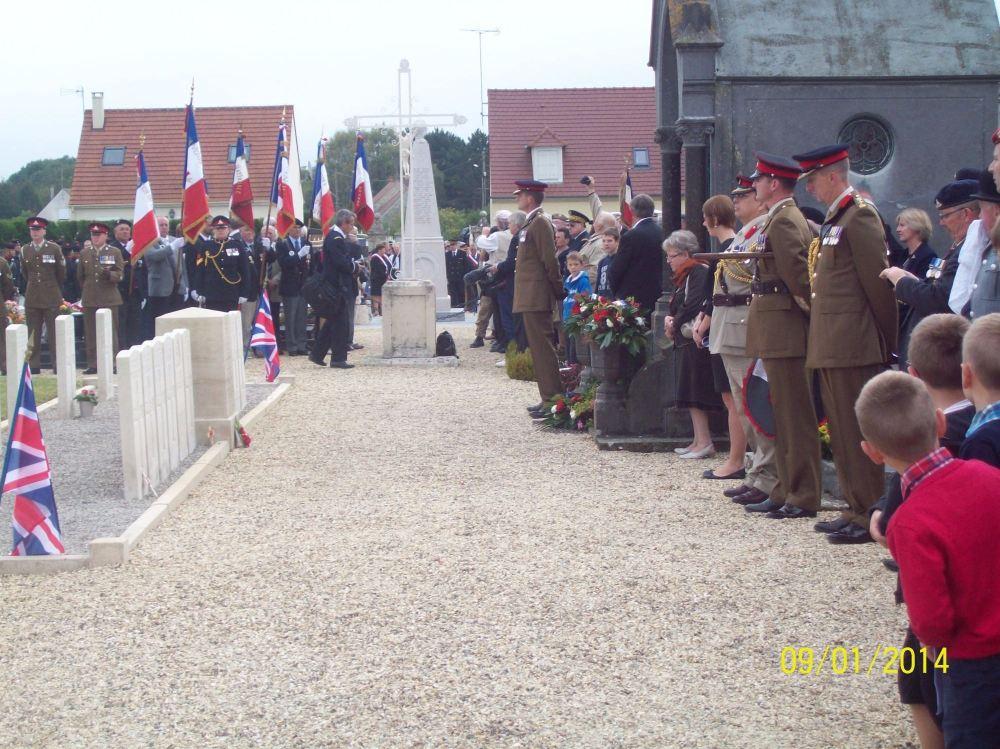 2015 - cemetery parade