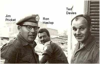Jim Ron and Ted - Cyprus 1963