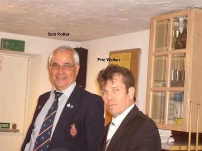 Eric Walker and Robin Potter