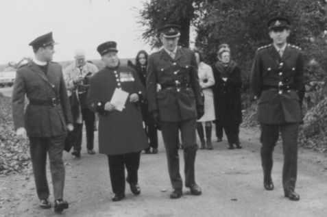Visit to Néry 1974