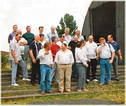 Reunion members visit to Barford Camp