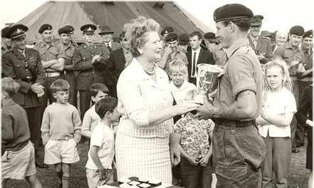 Tom Barker gets the Bradbury Cup c1963