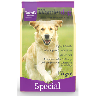 Sneyd's Wonderdog Dog Food - Special Dry - 15kg Bag