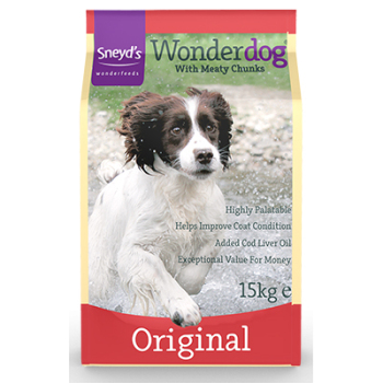 Sneyd's Wonderdog Dog Food - Original Dry - 15kg Bag