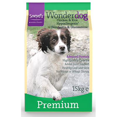 Sneyd's Wonderdog Dog Food - Premium Dry - 15kg Bag