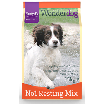 Sneyd's Wonderdog Dog Food  No 1 Lower Protein Resting Mix 15kg