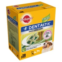 Pedigree Dentastix Fresh Small 28 Sticks