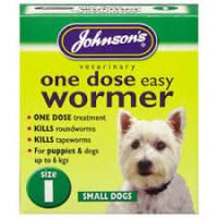 Johnsons One Dose Wormer Size 1