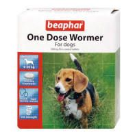 Beaphar One Dose Wormer Medium Dog