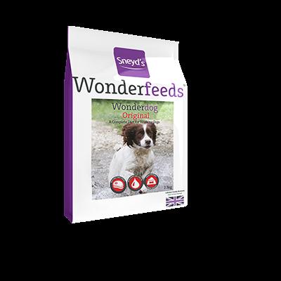 Sneyds Wonderdog Original Dog Food With Cod Liver Oil 2.5kg