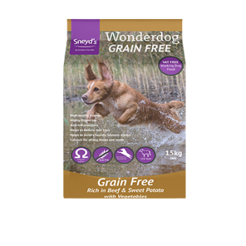 Sneyds Wonderdog Grain Free Beef & Sweet Potato 15kg